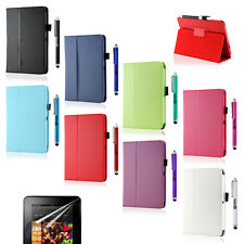 "Folio PU Leather Case Smart Cover Stand for Amazon Kindle Fire HD 7"" Protector"
