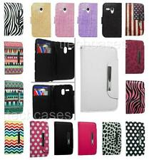 WALLET POUCH CARRYING COVER CASE FOR MOTOROLA MOTO G CELL PHONE