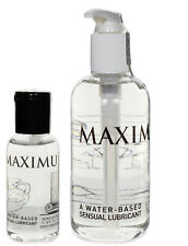 Maximus Water Based Personal Sex Lubricant Lube - All Sizes