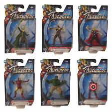 "MARVEL AVENGERS MINI ACTION FIGURES IRON MAN THOR COLLECTIBLE 2"" DETAILED TOY"