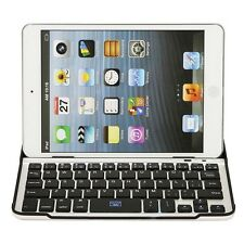 NEW ULTRA SLIM BLUETOOTH WIRELESS KEYBOARD ALUMINUM CASE COVER for iPad Mini 1 2
