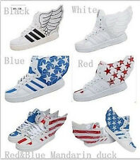 Angel Wings High Shoes Sports Lovers Fashion Men's/Women's Hip-hop Fashion Shoes