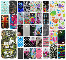 LG Optimus L70  HARD Protector Case Snap on Phone Cover Accessory