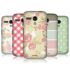 HEAD CASE DESIGNS FRENCH COUNTRY PATTERNS BACK CASE FOR MOTOROLA MOTO G