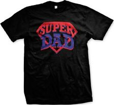 Super Dad Logo - Hero Father's Day Dad Father Funny Slogans - Men's T-shirt