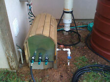 Rain Water Drip Irrigation Pump Assembly Fully Automated 2 station 30 PSI