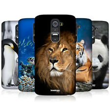 HEAD CASE WILDLIFE PROTECTIVE SNAP-ON HARD BACK CASE COVER FOR LG G2 D802
