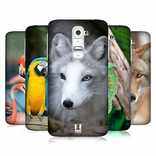 HEAD CASE DESIGNS FAMOUS ANIMALS CASE COVER FOR LG G2 D802