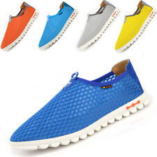 New Men's Breathable Mesh Casual Loafers Slip On Walking Running Shoes sneakers