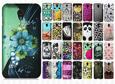 For LG Lucid 3 VS876 Rubberized HARD Protector Case Snap Phone Cover Accessory