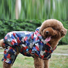 Outwear Jacket Winter Camouflage Clothes Pet Puppy Thick Jumpsuit Dog Down Coat