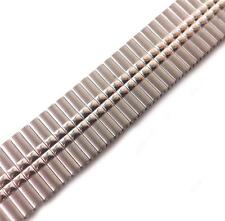 PRIMA-FLEX SILVER TONE LARGE EXPANDER WATCH STRAP 23mm T BAR BY PAGODA NEW