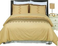 Lakewood Embroidered 4-PC Comforter Set 100% Cotton