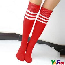 Trendy Ladies Over-Knee Color Fashion HOT Soccer Sports Thin Tube Socks Stocking