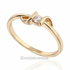 Lady Wedding Club LOVE Party 14K White Gold Plated/Gold Plated Ring US 5.25-9