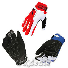 New Motorcycle Motocross Adult Riding Racing Mesh Breathable Full Finger Gloves