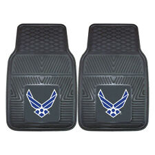 Choose Your US Military Branch 2pc Heavy Duty Vinyl Car & Truck Front Floor Mats