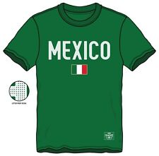 "World Cup Mexico Flag T-Shirt - Green  ""New"""