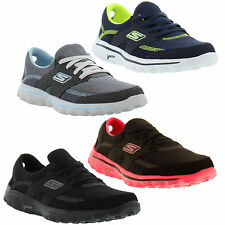 Skechers Go Walk 2 STANCE Shoes Genuine Womens Trainers Sizes UK 4 - 8