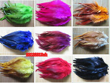 Free shipping!50-500pcs natural rooster feathers 5-7 inch/12-16cm DIY hot diy