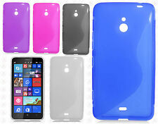 For Nokia Lumia 1320 TPU CANDY S-Line Flexi Gel Skin Case Cover S-Shape