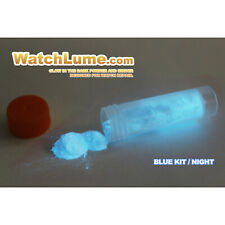BLUE GLOW IN THE DARK PAINT WATCH LUME ™ LUMINOUS PASTE KIT LUME - WATCH HANDS