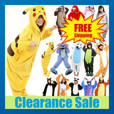 Anime Cosplay Pyjamas Costume Hoodies Animal Adult Onesie Unisex Fancy Dress UK