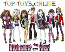 MONSTER HIGH Deluxe Dolls