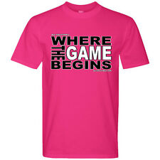 Where the Game Begins Volleyball T-Shirt
