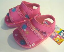NEW GARANIMALS GIRLS INFANTS PINK SANDALS 2, 3, 4, 5
