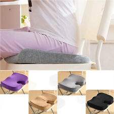 New Deluxe Back Ache Pain Memory Foam Orthopedic Seat Solution Cushion HOT sale