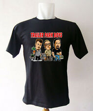 Trailer Park Boys Canada Black T-shirt splzs Cotton Blend Basic Tee Short Sleeve