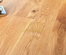 JUST CLICK  190mm x 15mm Brushed and Lacquered Engineered Oak Flooring wood floo