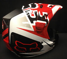 Fox Racing 2014 V2 Anthem Helmet Red
