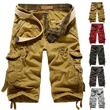 New Men's Hobo Men Relaxed Fit Army Cargo Baggy Shorts Summer Cool Pants Shorts