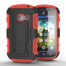 GHOSTEK® ARMADILLO RUGGED HYBRID IMPACT CASE FOR SAMSUNG GALAXY CENTURA S738C