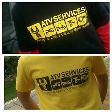 ATV Services Scotland Official Merchandise - Premium Logo T-Shirt