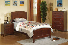 Furnish Youth Bedroom Furniture 3Pcs Bedroom set in 4 Colors Twin Bed Frame