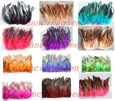 Rooster feathers 6-8inches 100pcs color&quantity optional