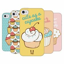 HEAD CASE CUPCAKES TPU GEL BACK CASE COVER FOR APPLE iPHONE 4