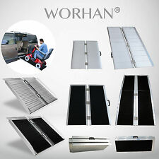 WORHAN® Mobility Scooter Wheelchair Ramp Folding Access Disabled Various Lenghts