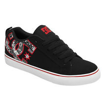 DC - COURT VULC SE Mens Skate Shoes (NEW) Sizes 7-12 RECORD PRINT Free Shipping!