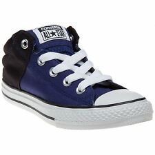 New Infants Converse Blue Chuck Taylor All Star Axel Canvas Trainers Lace Up
