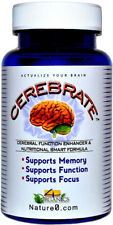 CEREBRATE BRAIN MEMORY COGNITION CEREBRAL NEURO-ENHANCING SUPPLEMENT SUPPORT