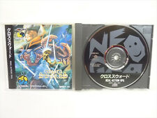 CROSSED SWORDS Neo Geo CD Neogeo SNK Import JAPAN Game nc