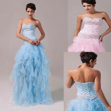 Cheap~Girl/Womens Pageant Dresses Bridesmaid Party Princess Gown Formal Dresses