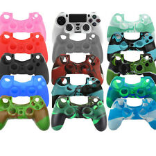 Silicone Rubber Gel Cover Case Skin For Sony Playstation 4 PS4 Controller