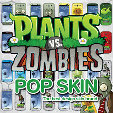 POPSKIN Elaborated Skin Decal Sticker For Mobile Devices Licensed PvZ Characters
