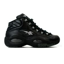 Reebok Question Mid OG (Black/Black) Men's Shoes SZ (7-13) 52075