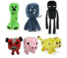 Minecraft Plush Stuffed Toys Enderman Pig Mooshroom Creeper Ocelot Squid Sheep